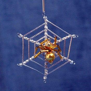 Spiderweb Ornament