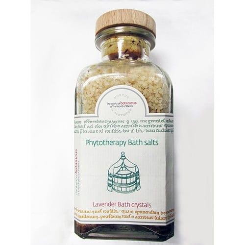 Phytotherapy Bath Salts - Lavender Bath Crystals