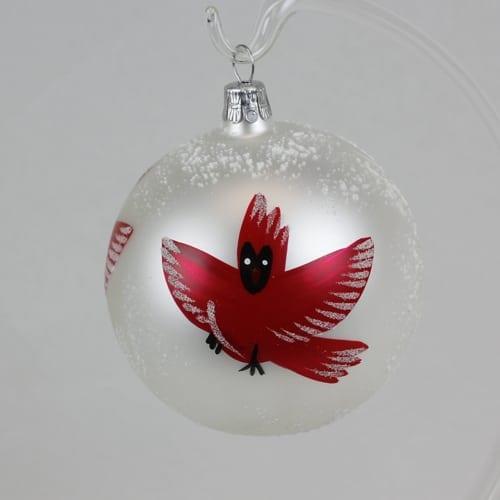 Cardinal Ball Ornament