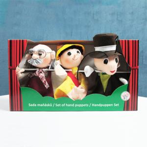 Handmade Pinocchio Puppet Set