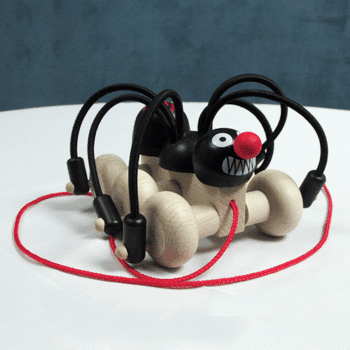 Wooden Spider Pull Toy