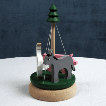 Wooden Animal Roundabout