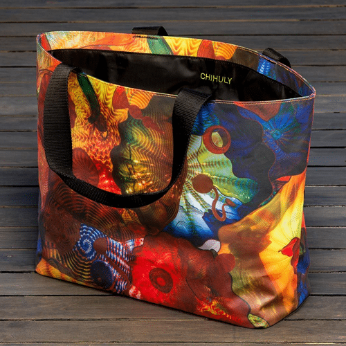 Chihuly Persian Ceiling Tote Bag