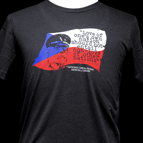 Tomáš Masaryk Quote T-Shirt
