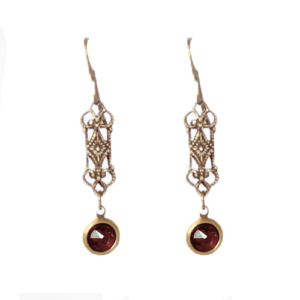 Custom Petite Drop Filigree Earrings