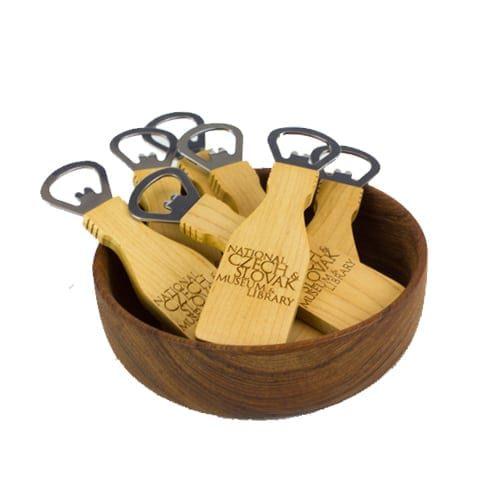 NCSML Wooden Bottle Opener