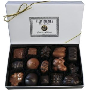 Santa Barbara California Collection Chocolates