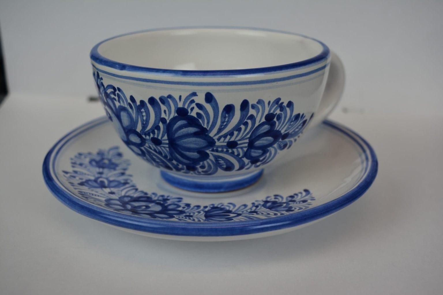 Modra Cup and Saucer