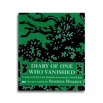 Diary of One Who Vanished by Seamus Heaney