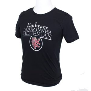 'Embrace Your Inner Bohemian' T-shirt - Black