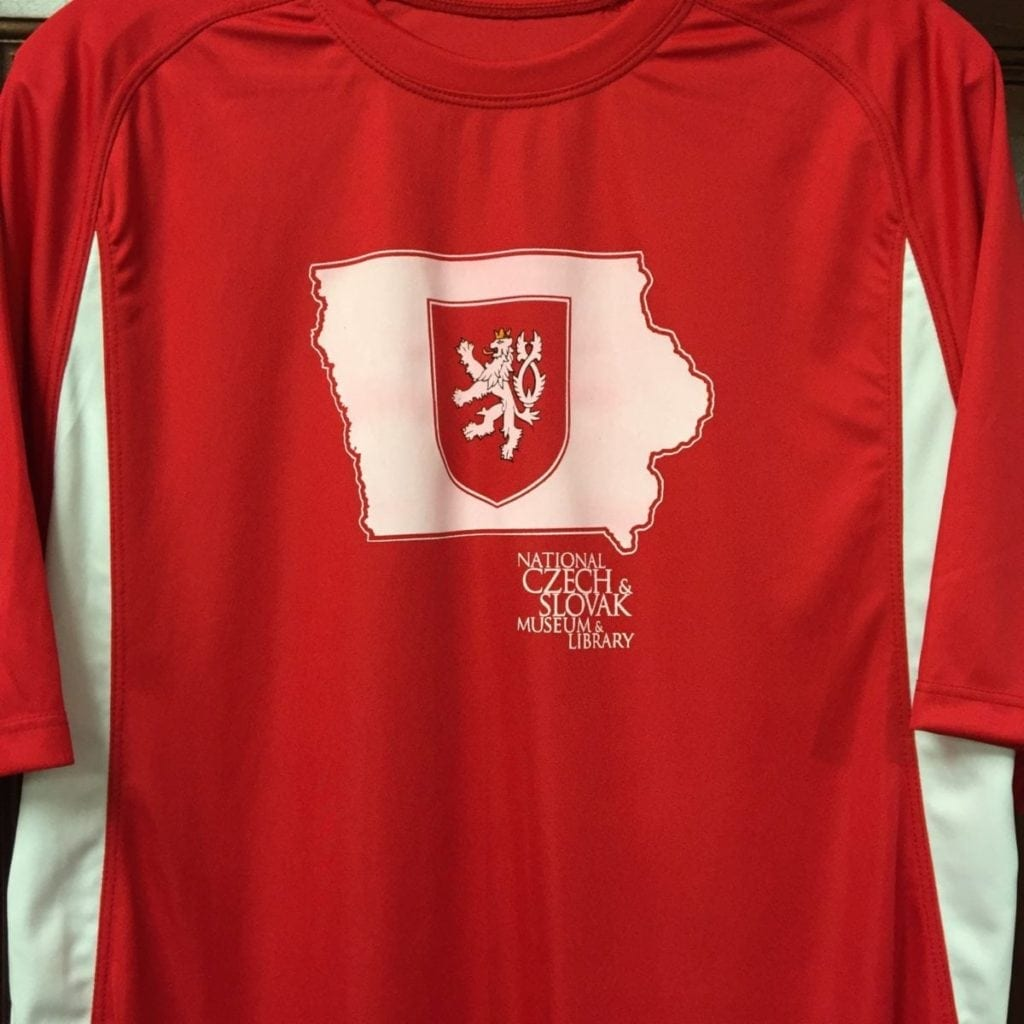 Czech in Iowa Custom Sport Shirt