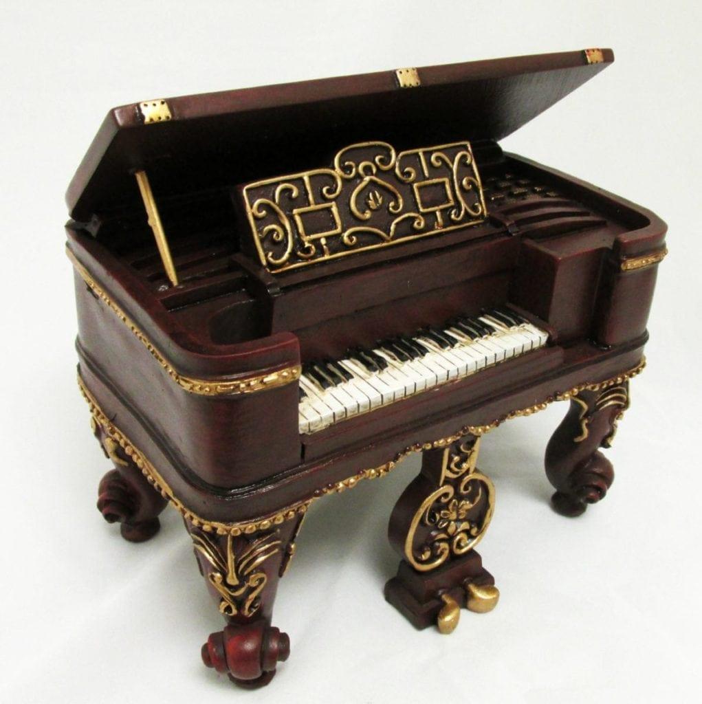 Baroque Piano Music Box