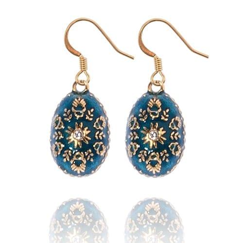 Custom Egg Charm Earrings by KJK Jewelry