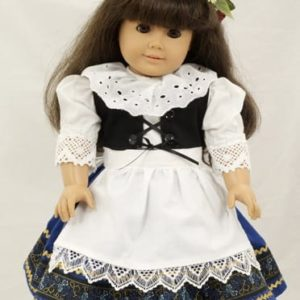 Hand-made Kroj Doll Dress