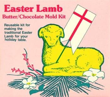 Easter Lamb Mold Kit