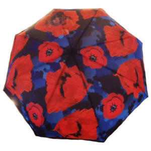 Remembrance Poppy Umbrella