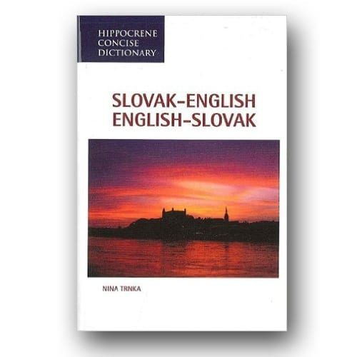 Slovak - English Dictionary