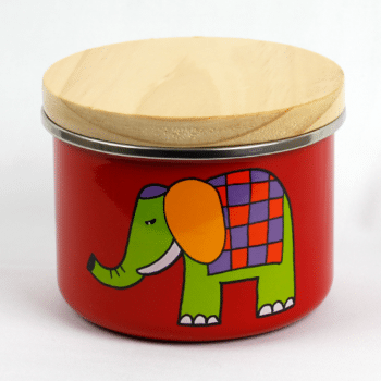 Smaltum Enamel Canister with Lid, 3""