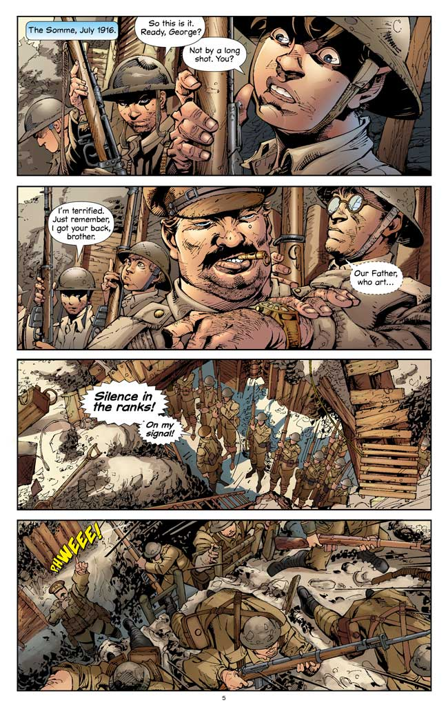 World War I: the War to End All Wars by Alan Cowsill (graphic novel)