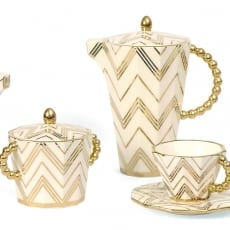 Modernista Gold Sugar Bowl