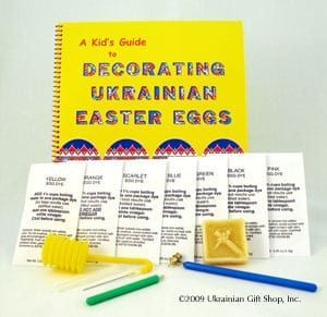 Kid's Egg Decorating Kit