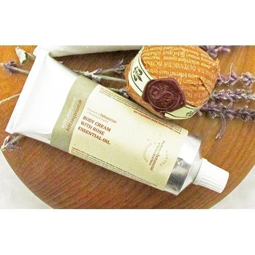 Body Cream with Rose Essential Oil