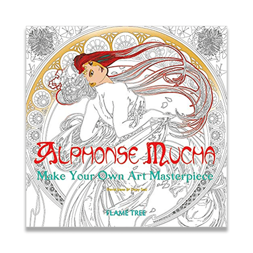 - Alphonse Mucha Art Colouring Book National Czech & Slovak Museum &  Library Store